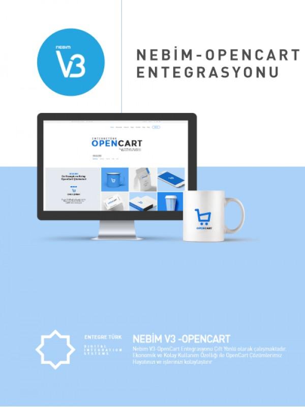 Nebim V3-OpenCart Entegrasyonu